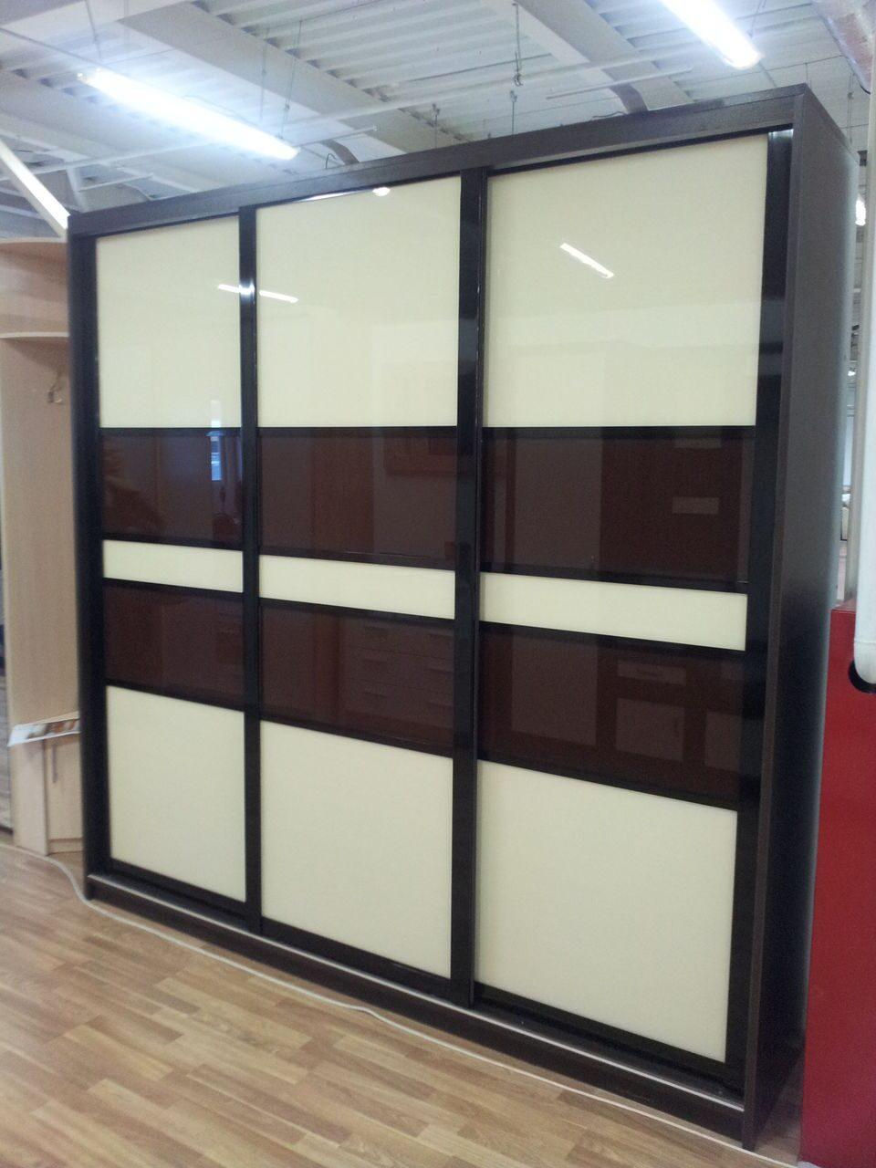 Шкафы купе со стеклом фото